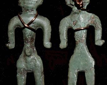 Early Avar Effigy Pendant, ca. 1st cent AD