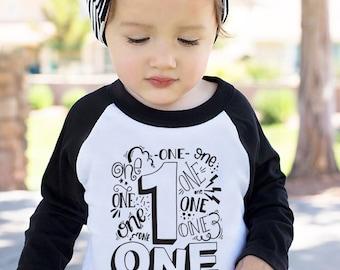 FIRST BIRTHDAY SHIRT - First Birthday - First Birthday Boy - 1st Birthday - 1st Birthday Outfit - Boys First Birthday Outfit - One Shirt Boy