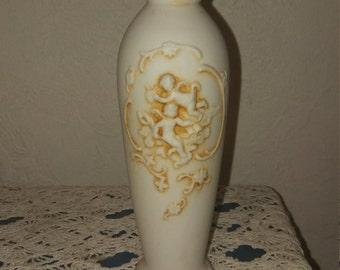 Vintage Lefton Cherub Bud Vase