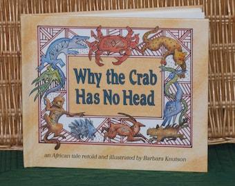 Crab Folk Art Etsy