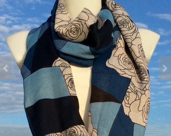 Scarves,Mother Daughter Scarves,Fall Scarf,Scarves For Women,Women's Scarves,Fashion Scarves,Summer Shawl,Unique Scarves,Spring Summer Scarf