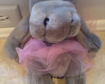 Hippo Ballet Girl 1993 TY