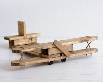 plane wood prop, plane prop, baby plane prop, newborn plane photography prop, newborn props, photography props