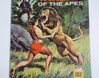 Gold Key Comics Tarzan of the Apes # 184 June 1969 Vintage Comic Book VF
