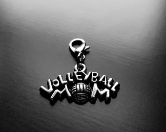 Volleyball Mom Dangle Charm for Floating Lockets-Gift Ideas for Women