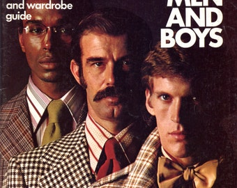 Sewing for Men and Boys from Simplicity | Sewing Book