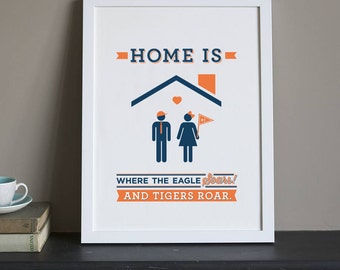 Auburn University - Home Is - Print