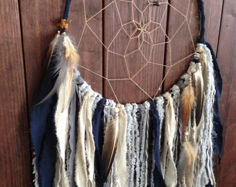 Dream Catcher, Dreamcatcher, Tapestry, Dream Catcher Wall Hanging, Bohemian Wall Tapestry, Hippie Tapestry, Woodland Nursery, Boy Nursery