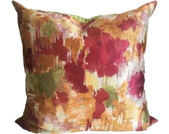 Aquarelle Watercolor Pillow