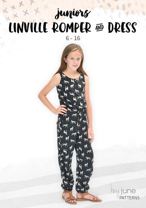 linville romper and dress girls juniors tweens teens dress
