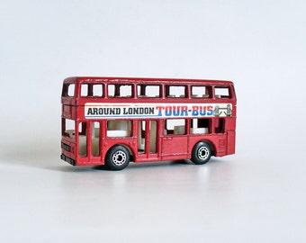 Toy London bus - Matchbox 1980s