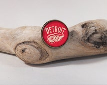 Pin Hockey detroit Red Wings LOGO 20mm antique bronze