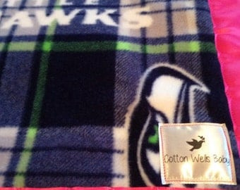 Design Your Own Seahawks Baby/Toddler Blanket...Touchdown! Made By Moms