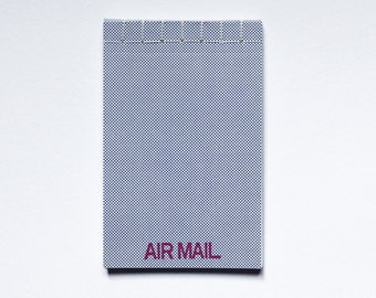 Air Mail Notepad