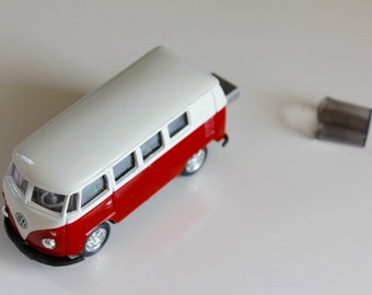 Custom 16GB to 128GB USB 3 Flash Drive - 1963 Volkswagen Kombi Bus