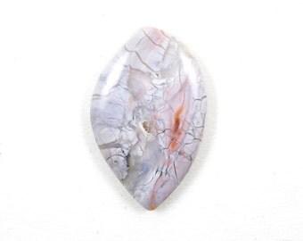 Chapenite Cabochon Jasper Agate Cabochon Pale Blue Light Pink Peach Handmade Natural Stone Cabochon Freeform Designer Cabochon Pendant Stone