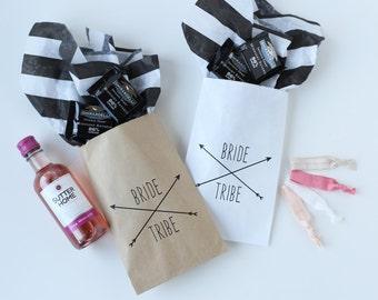 Bride Tribe Favor Bags - Bachelorette Party Bags