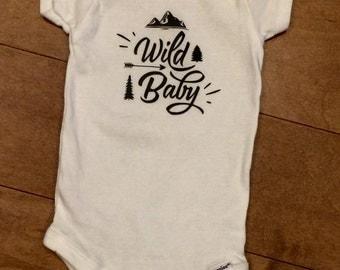Wild Baby Onesie