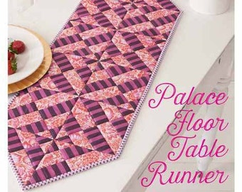 Palace Floor Table Runner Sewing Pattern Download (884133)