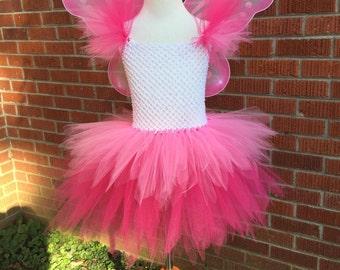 Fairy Costume - Fairy Tutu - Fairy Tutu Dress - Fairy Tutu Costume - Faerie Tutu - Faerie Costume - Tinkerbell Tutu Costume -Tinkerbell Tutu