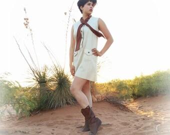 Craely, Vintage Dress, Women's Dress, Short Dress, Mini Dress, Mod Dress, 1960s, 60s, Size Medium or Large