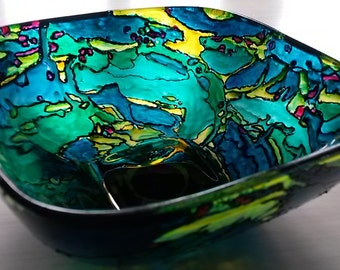 Upcycling redesigned glass bowl