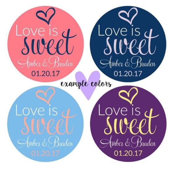 Wedding Invitation Stickers- Wedding Favor Stickers