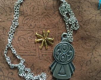Tardis Key Necklace Dr Who