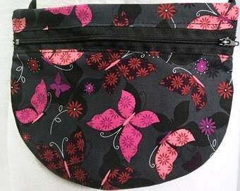 Butterfly Fanny Pack - Fanny Pack - Adjustable Fanny Pack - Waist Bag - Hip Bag - Fitness Pouch - Hip Pouch - Travel Pouch - Waist Pouch