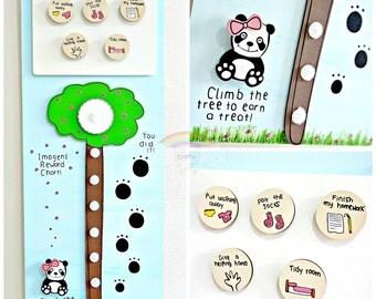 Panda Reward Chart - Behaviour Chart - Behavior - Chores - Chore Chart