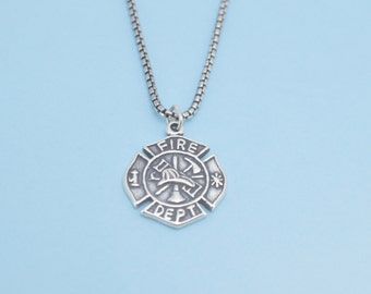 """Shop """"firefighter gift for him"""" in Jewelry"""