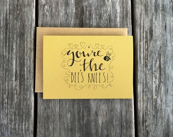 You're The Bee's Knees, Thank You Card Set, Bee Note Card Set