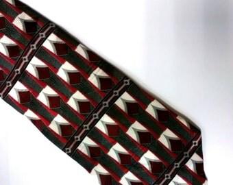 tie, necktie, POSTSCRIPTS, 100% Italian Silk, vintage, men, menswear, accessories, clothing, craft supplies