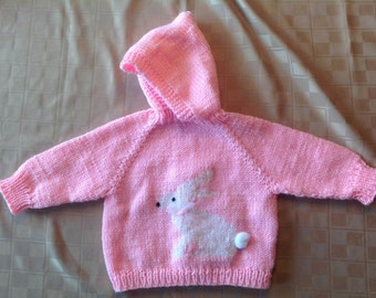 Baby Sweater - Bunny - 6-18 months