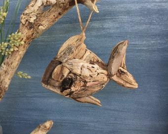 Driftwood Fish  / Small Coastal Decor / Ornament