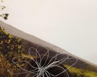 Bibi Fleur Coiffure evening headband and its flower metal Size XXL