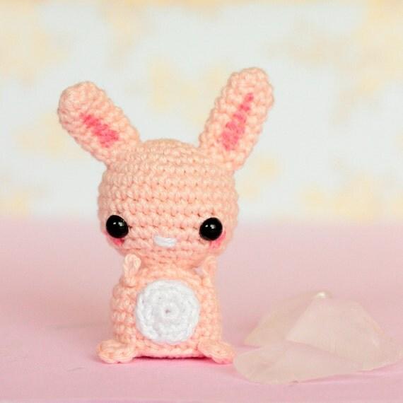 Crochet bunny amigurumi Kawaii bunny stuffed animal Kawaii