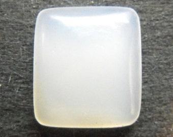 White Chalcedony Cabochon      EB121