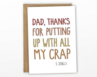 Funny Father's Day Card ~ By Cypress Card Co