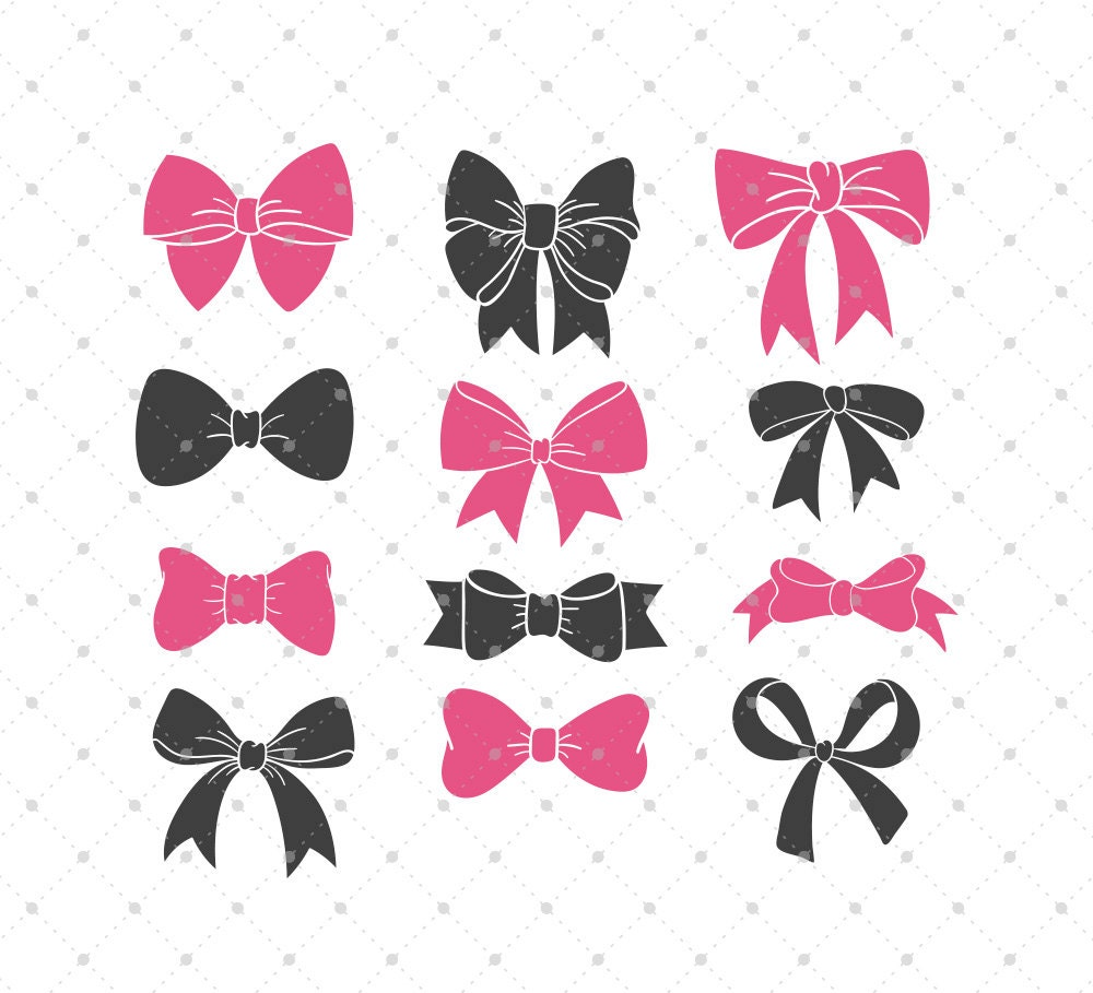 Download Bow svg cut files for Cricut Silhouette and other Vinyl