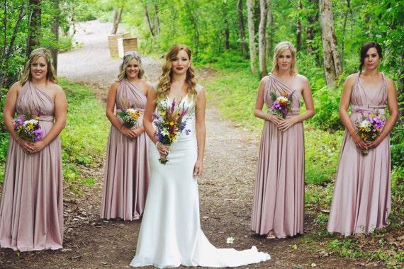 Convertible / Infinity Dress - Bridesmaid, Maternity, Custom Color & Size