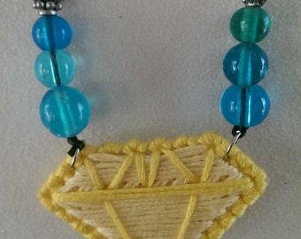 gem pendant necklace