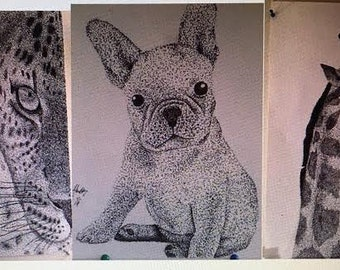 Custom Stipple Drawing
