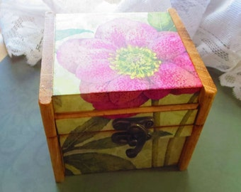 Gift box, wood box, flower box, jewelry box, decorative box, gift item