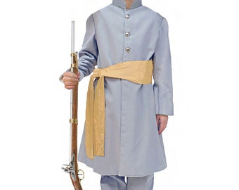 Children's American Civil War Confederate Soldier Uniform, Great for Historical Reenactments, Wax Museum, Walk Through Events and School Day