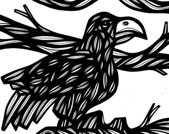 Luminous Bird Original Drawing