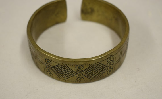 Bracelet Currency Mali Cast Bronze Wide Cuff Men Handmade Cast Wealth Commodity Money Bracelet
