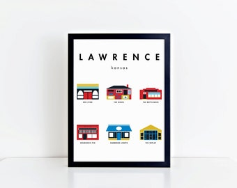 Bars of Lawrence (1 of 3) 11x17