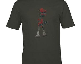 Robot t shirt- geek gift, funny tshirt, graphic tee, gifts for men, geek tshirt, robot shirt, geekery, geek clothing, meccano, engineer gift