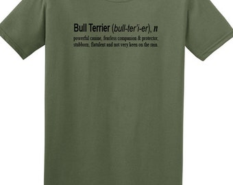 Dog t shirts- bull terrier tshirt, gifts for dog lovers, funny tshirt, shirts with dogs, english bull terrier, mens gifts, womens gifts, uk